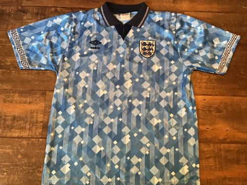 1990 1992 England Away Football Shirt Medium Large